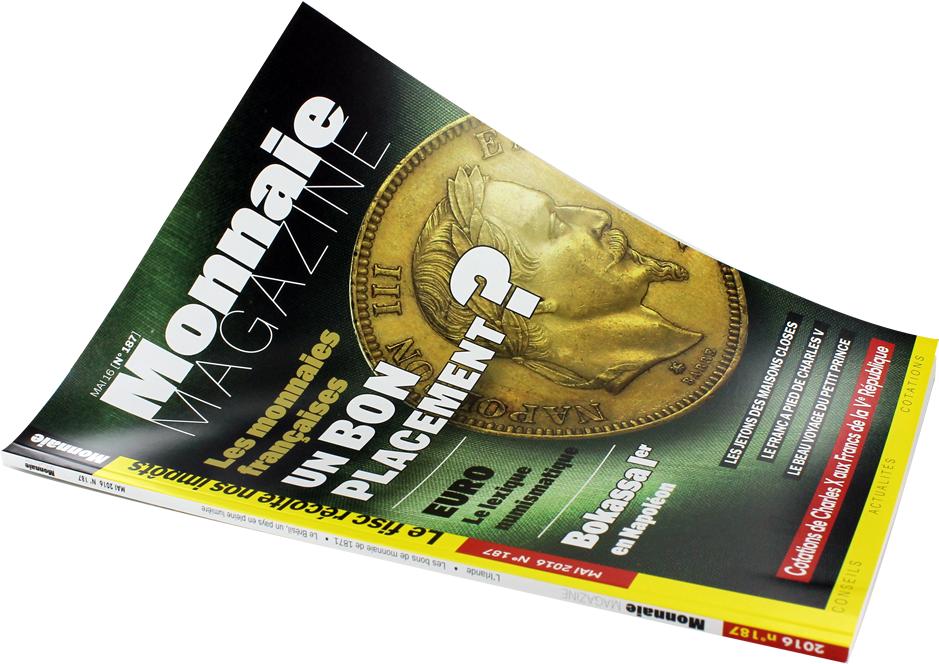 MONNAIE MAGAZINE N°187 – MAI 2016