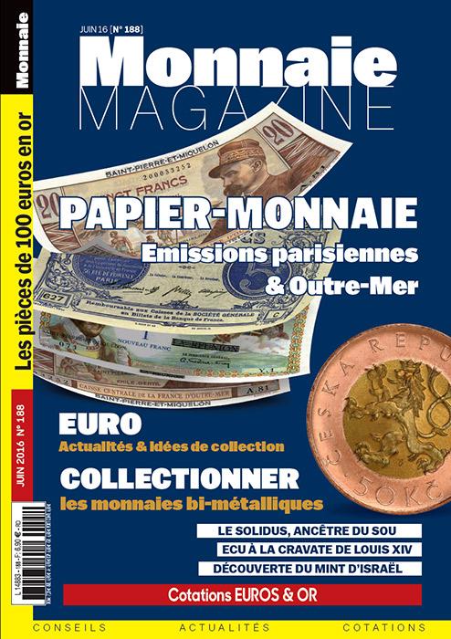 Monnaie Magazine Juin