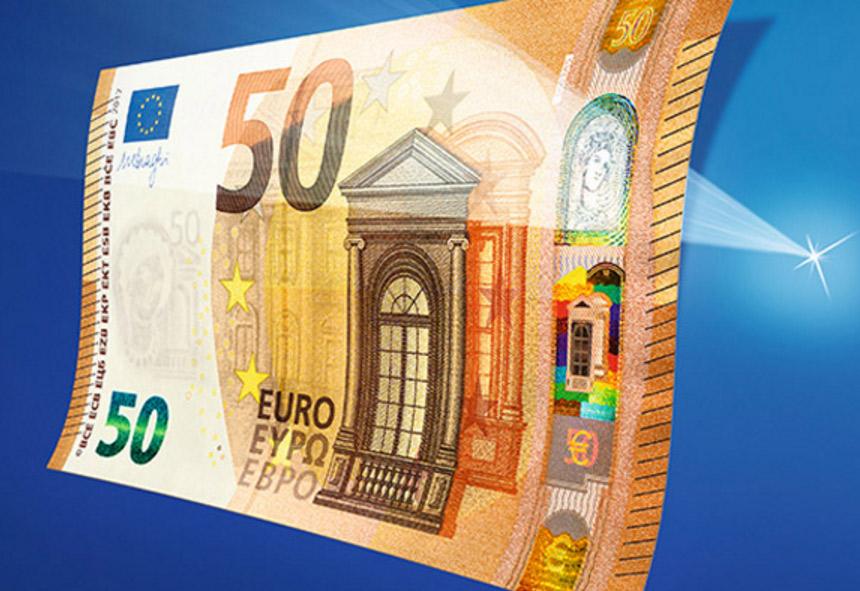 La BCE dévoile le nouveau billet de 50 euros !
