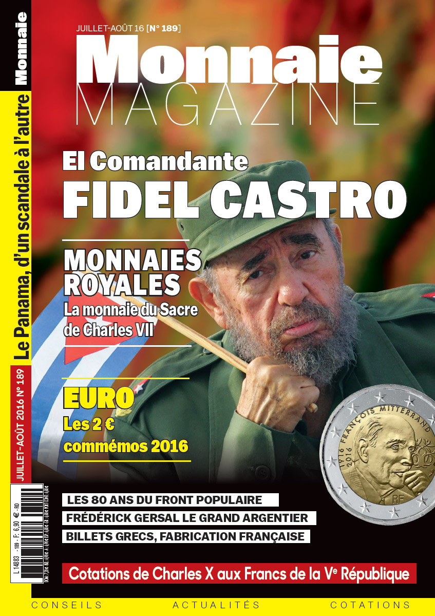 Monnaie Magazine Juillet Août