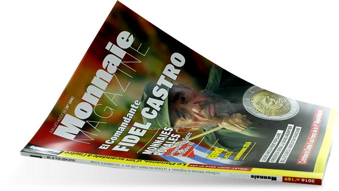 MONNAIE MAGAZINE N°189 - JUILLET AOUT 2016