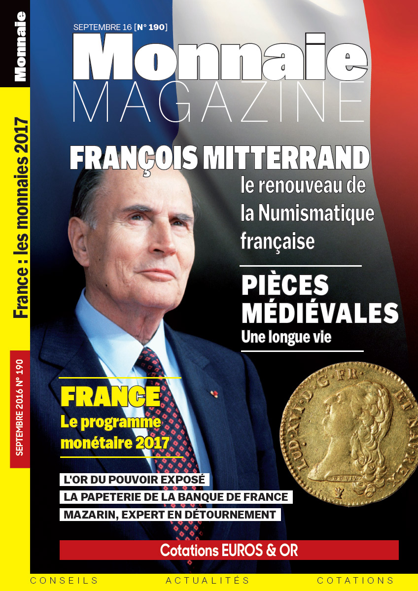 MONNAIE MAGAZINE N°190 - SEPTEMBRE 2016