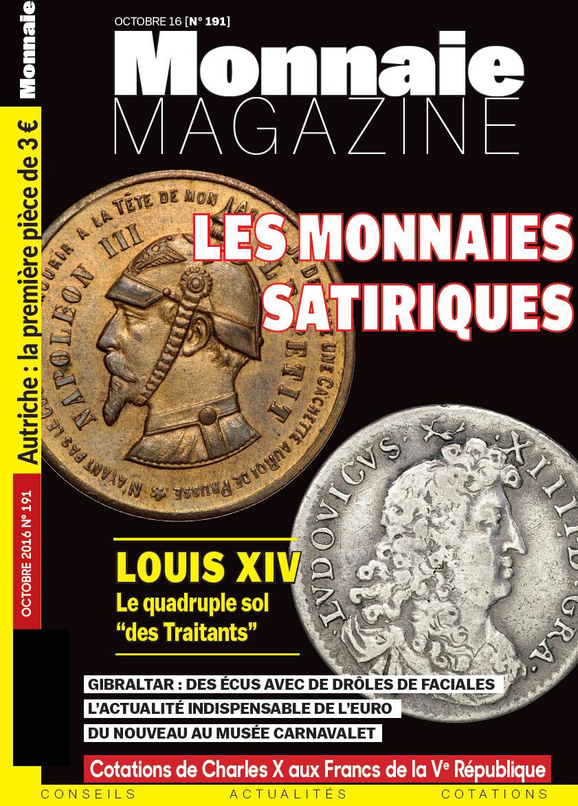 Monnaie Magazine 191 - Octobre 2016