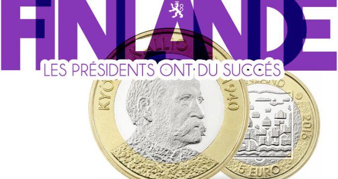 les pièces bimétalliques de 5 euros Finlande