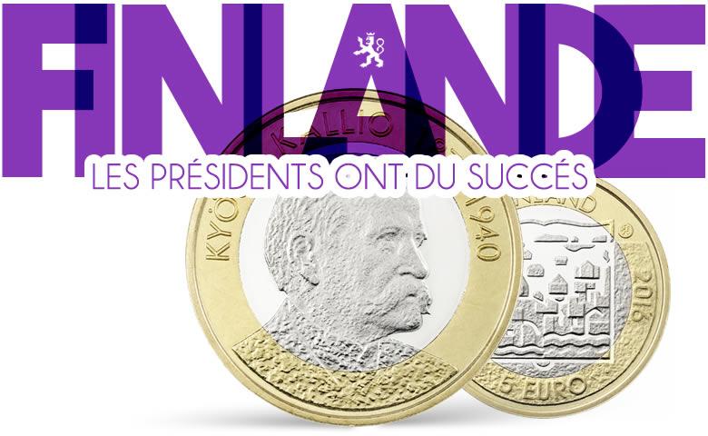 Le succès des 5 € bimétalliques Finlande