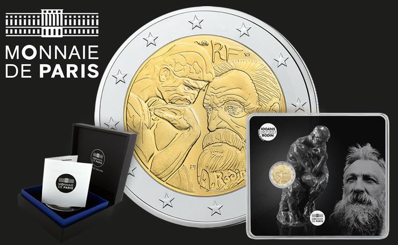 2017 : Année Rodin pour la Monnaie de Paris