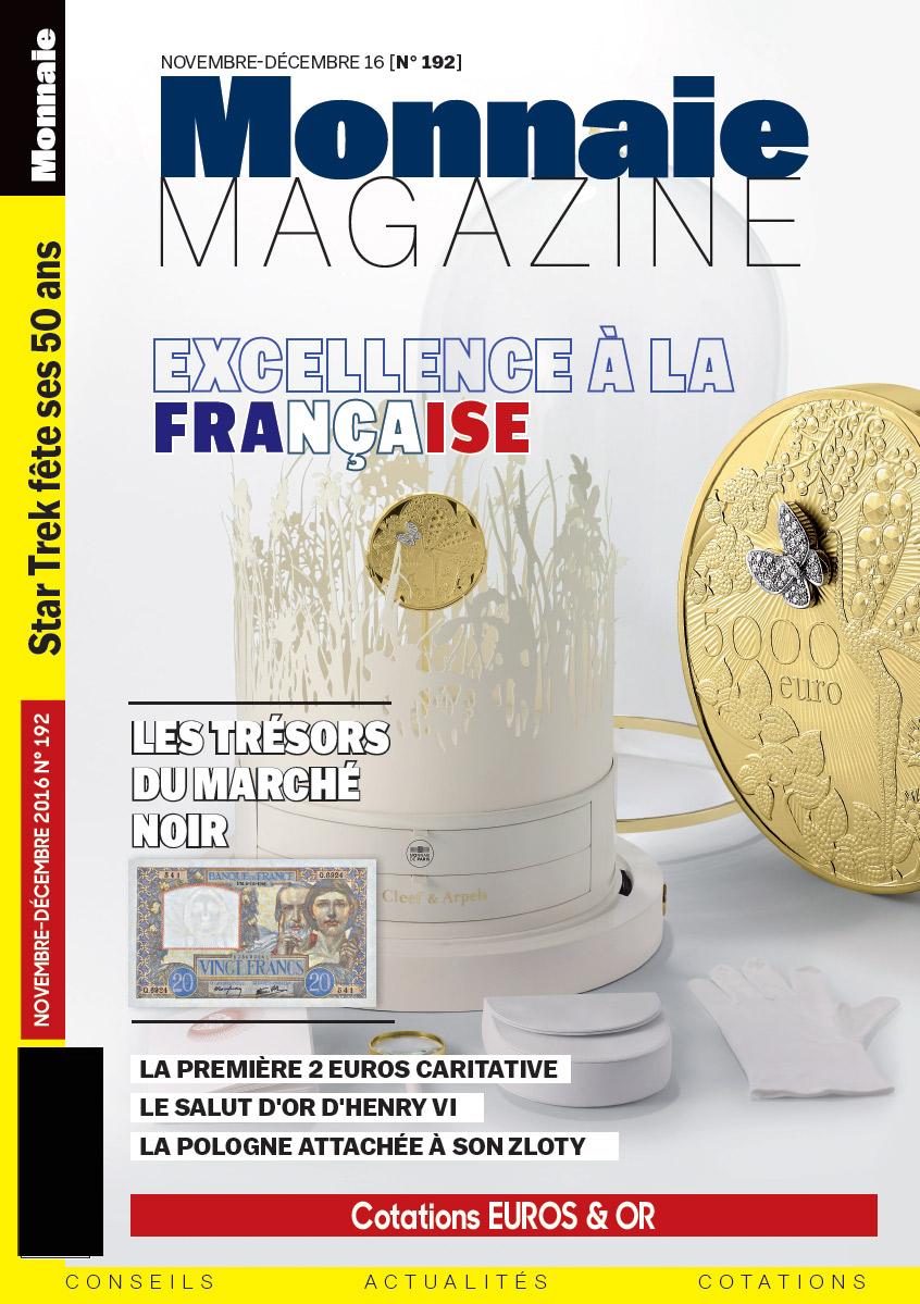 Monnaie Magazine 192 - Novembre Décembre 2016