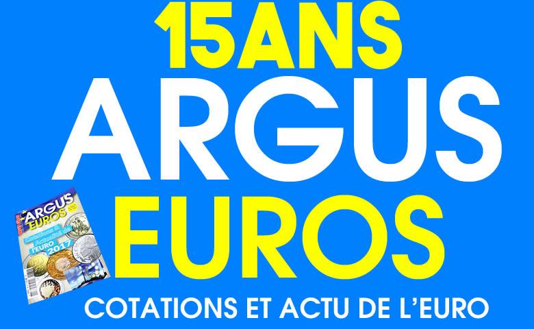 Argus Euros 15 ans numéro 60
