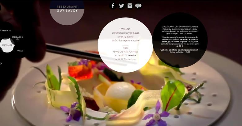 Le restaurant de Guy Savoy sacré meilleure table du monde