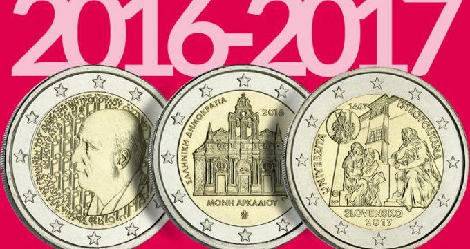 PHOTOS des dernières 2€ 2016 et première 2017