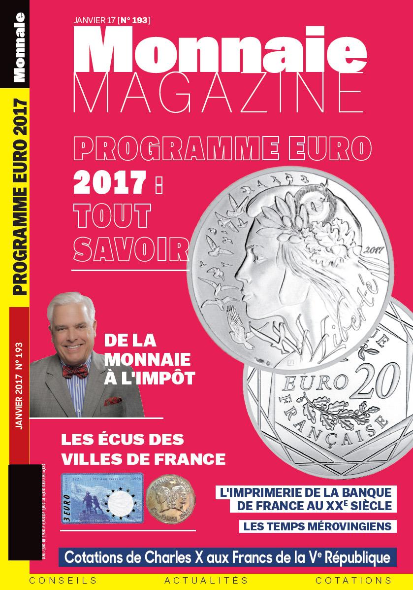 Monnaie Magazine 193 - Janvier 2017
