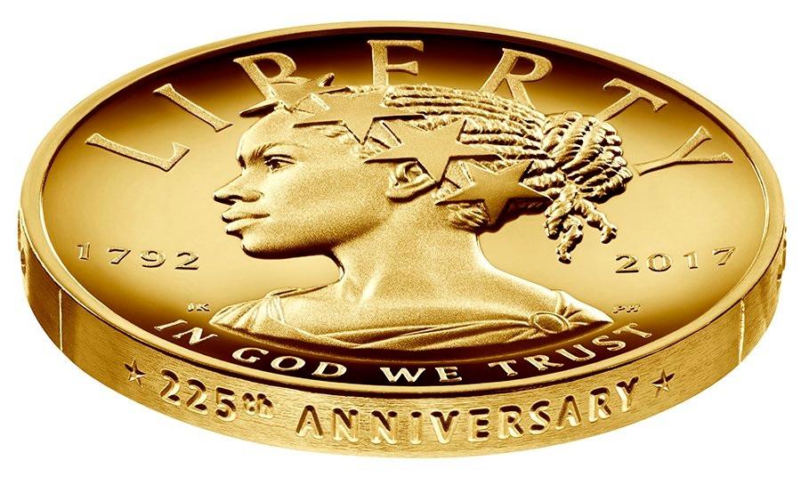 Une Lady Liberty Afro-américaine pour les 225 ans de l'USMint