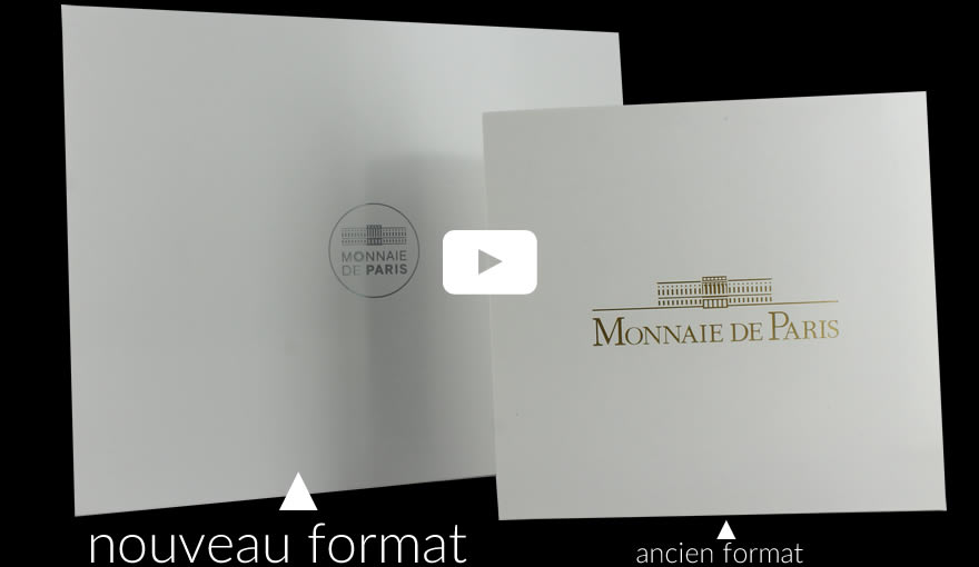 La Monnaie de Paris change son format de coffret BE en 2017