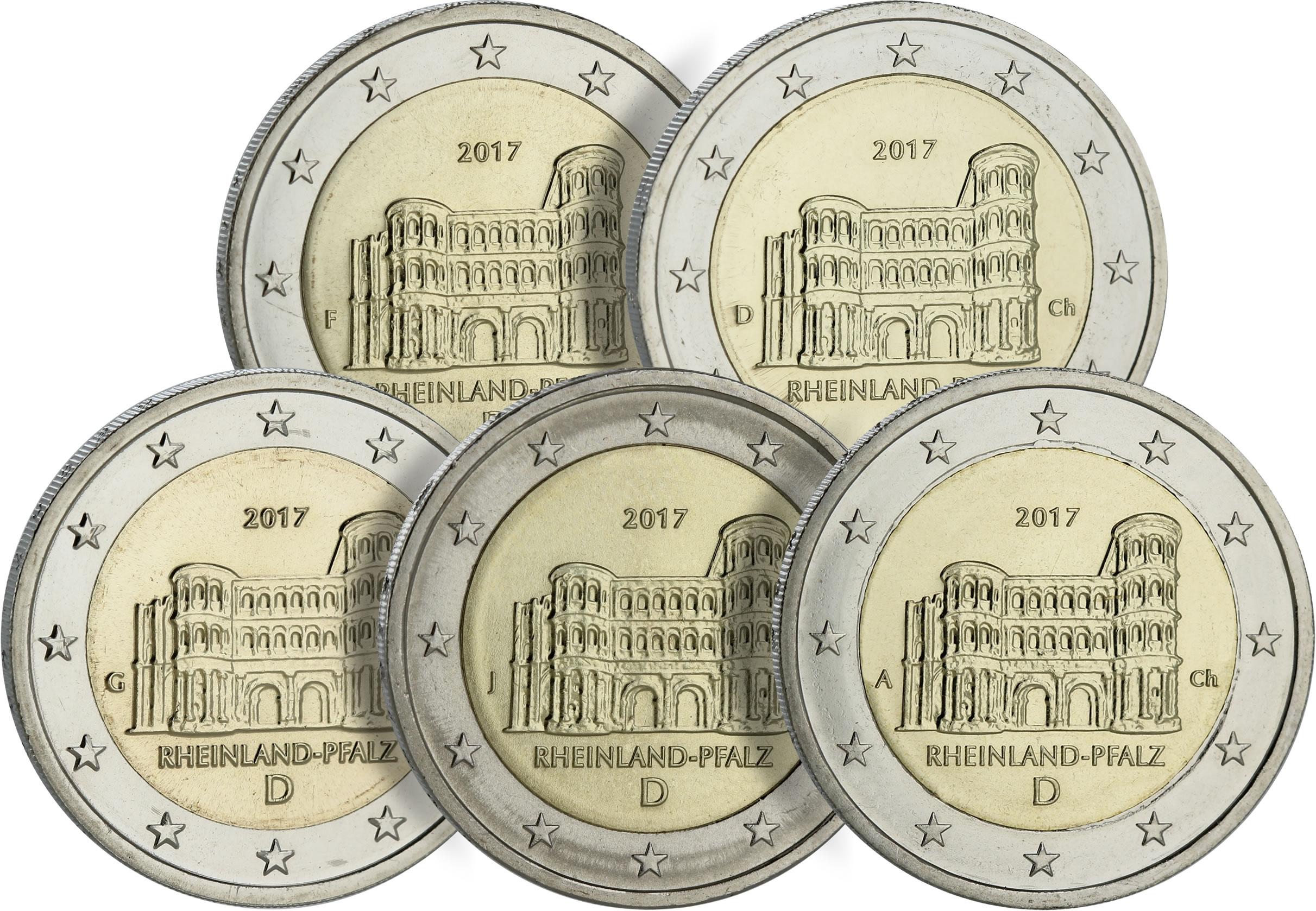 les ateliers des pièces de 2 euro Allemagne