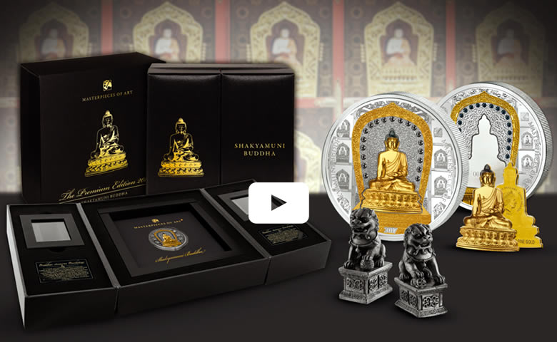 Shakyamuni le Bouddha de la collection des chefs-d'œuvre de l'art