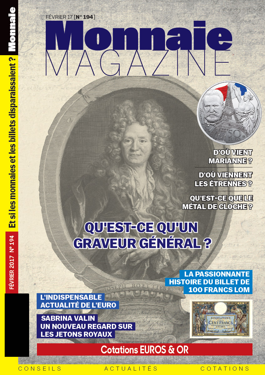 Monnaie Magazine 194 - Février 2017