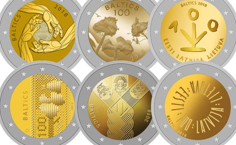 Concours pour la prochaine 2 Euros des États Baltes
