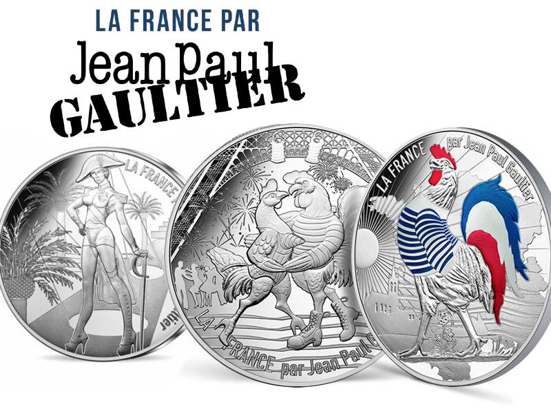 La France par Jean-Paul Gaultier et la Monnaie de Paris