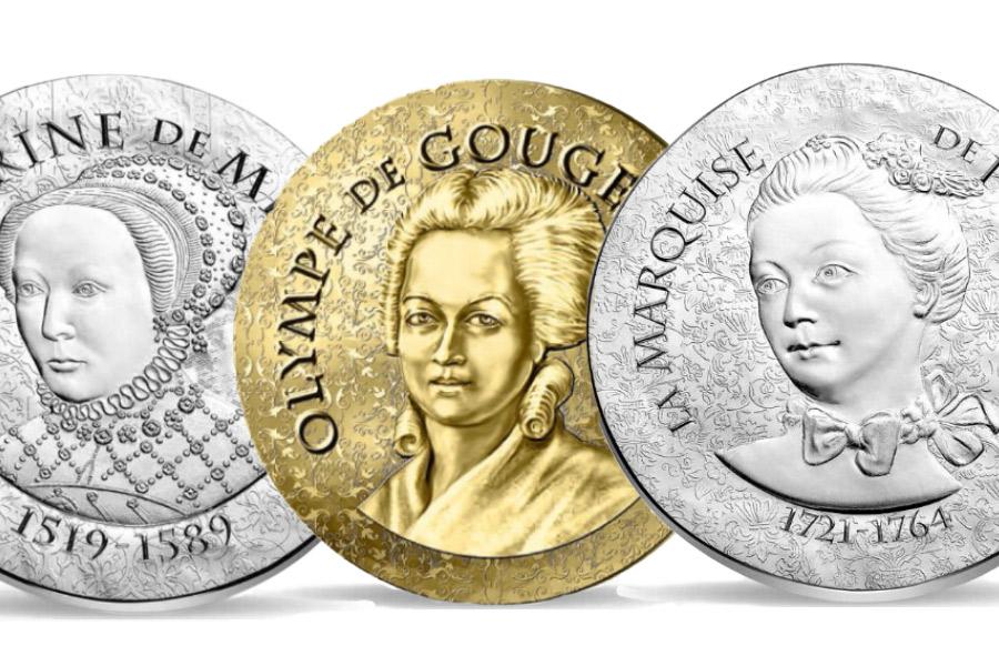 """3 nouvelles """"Femmes de France"""" par la Monnaie de Paris"""