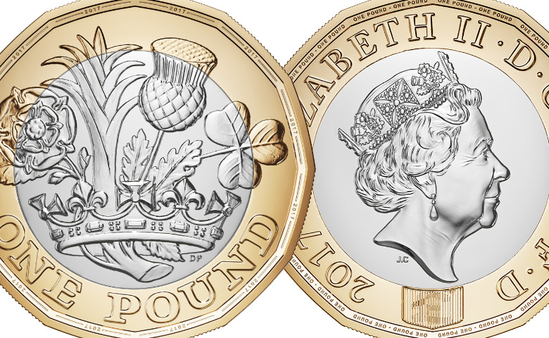 Le Royal Mint lance sa nouvelle pièce de 1 livre