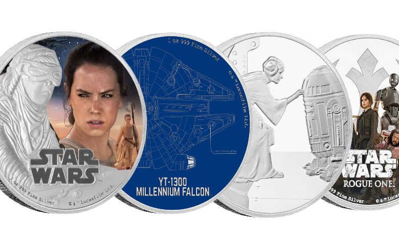 Star Wars contre-attaque avec le New Zealand Mint