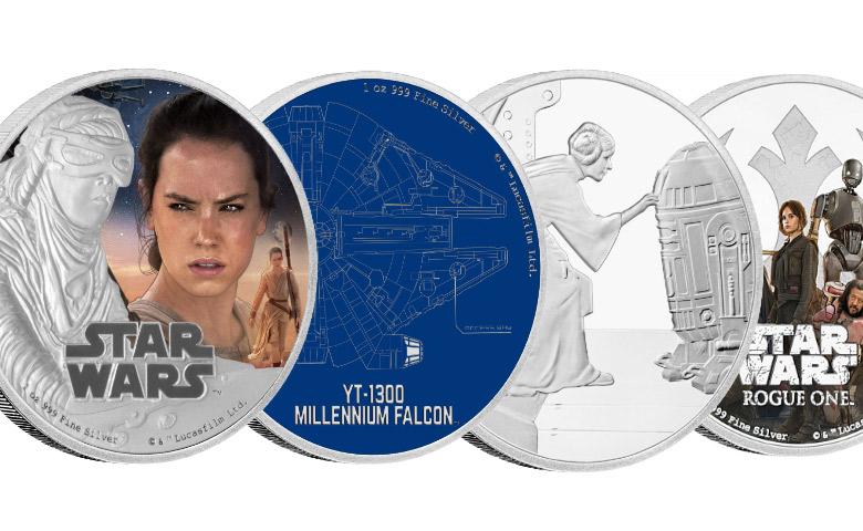 Star Wars contre-attaque avec le New Zealand Mint