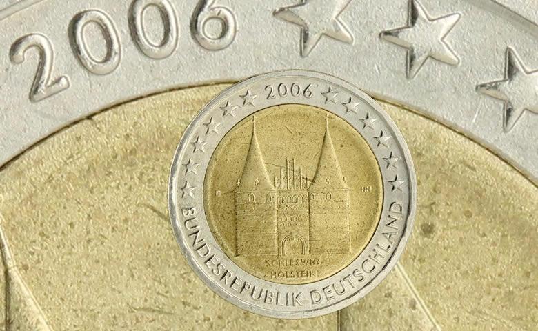 Première 2 € commémorative émise par l'Allemagne