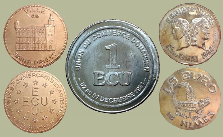 Vous souvenez-vous des Ecus des villes de France ?