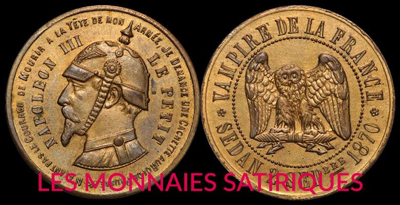 LES MONNAIES SATIRIQUES, Un objet original de collection