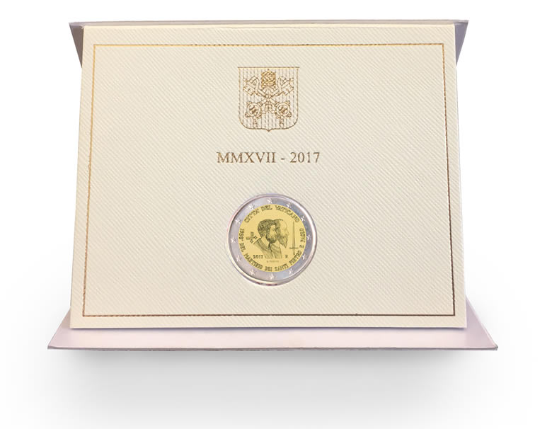 Vatican - 2 euros commémorative 2017