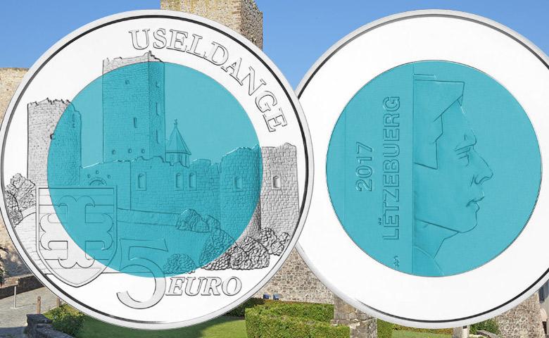 5 € Niobium Luxembourg  : USELDANGE à l'honneur