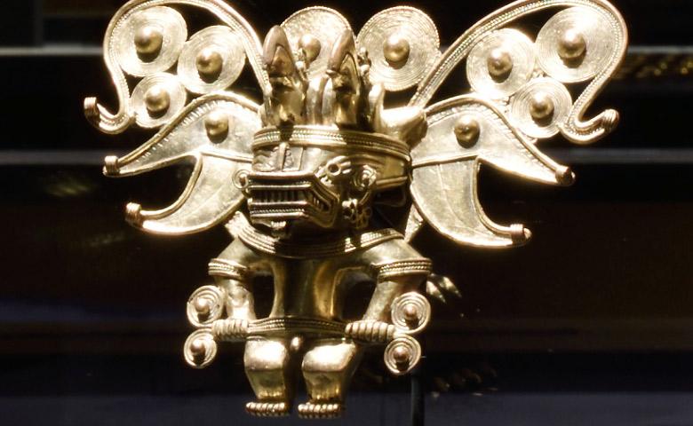 Les esprits, l'Or et le chaman à Nantes