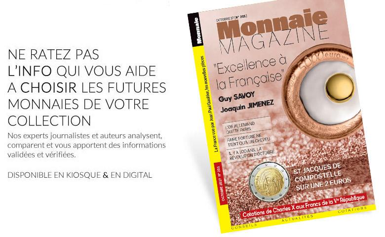 Monnaie Magazine Octobre 2017
