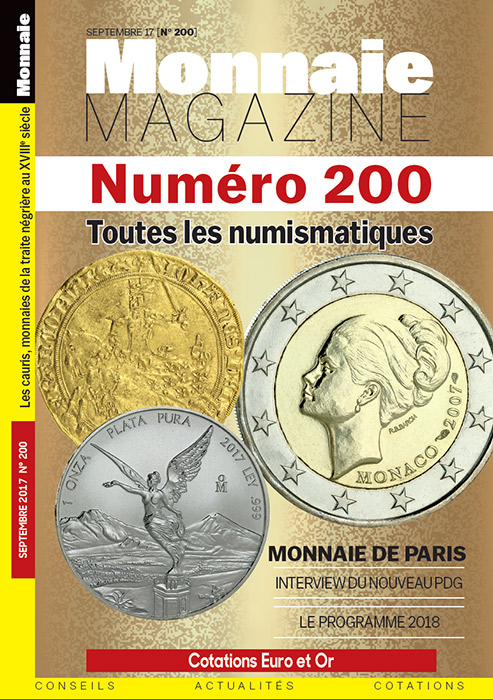 Monnaie Magazine Septembre 2017