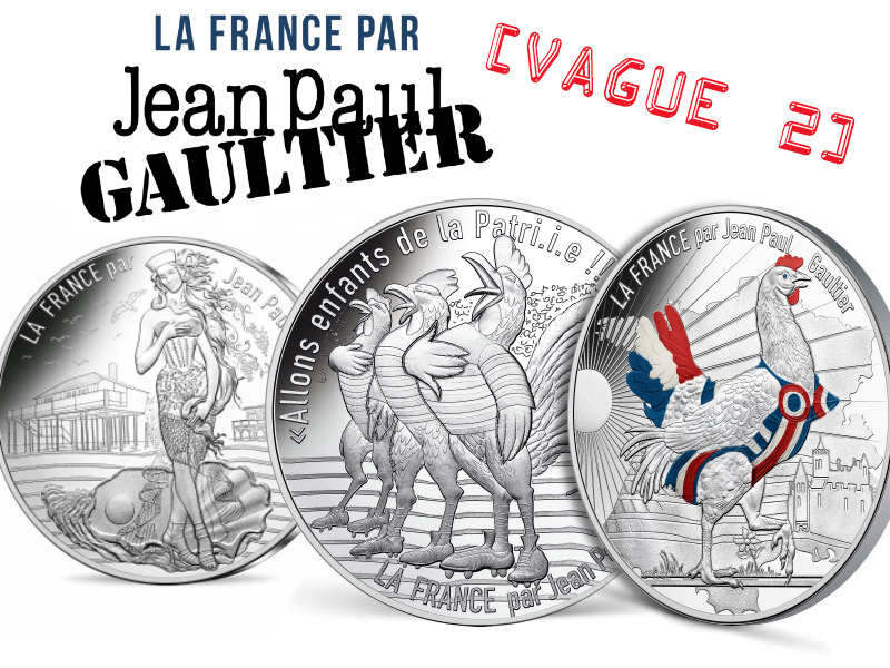 monnaie de paris jean paul gaultier vague 2