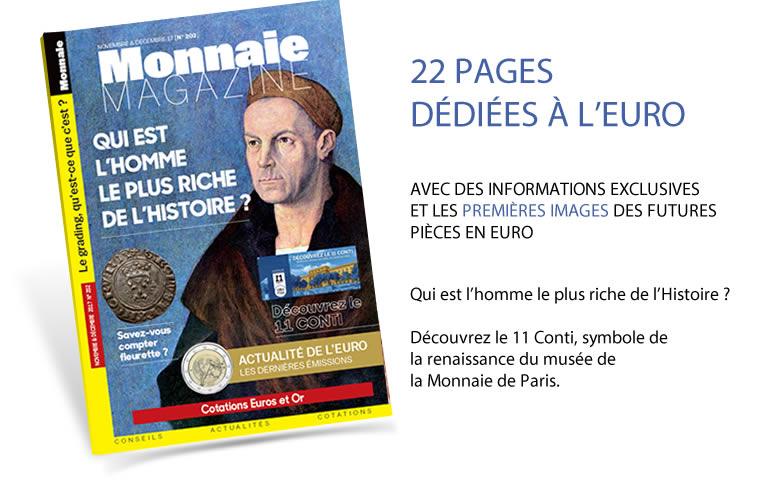 Monnaie Magazine Novembre et Décembre 2017