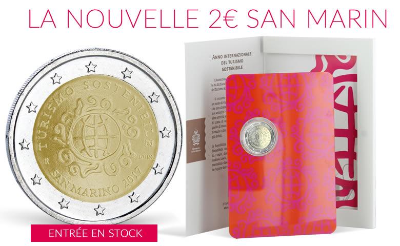 Monnaie de collection, pièces de Saint Marin
