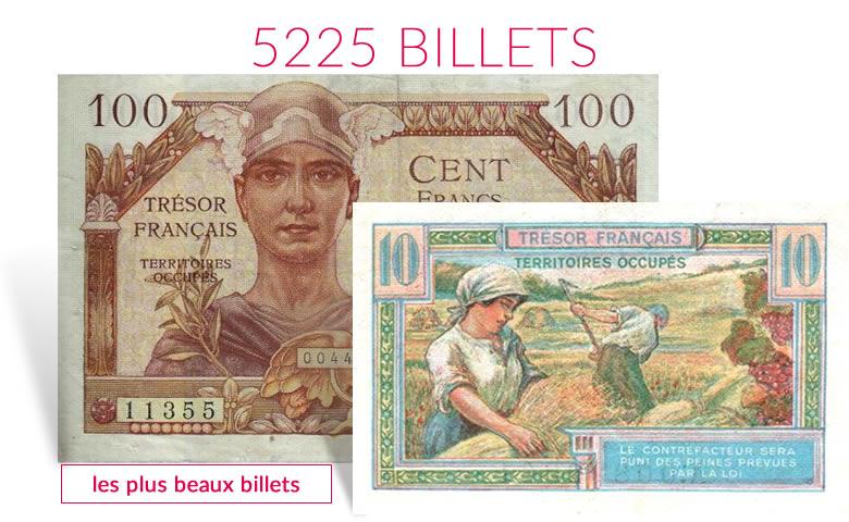 La très grand offre de billets de banque, du monde entier