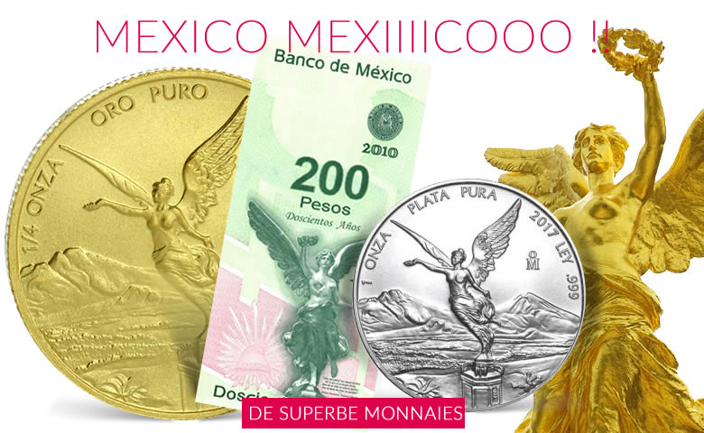 Les monnaies de collection mexicaines