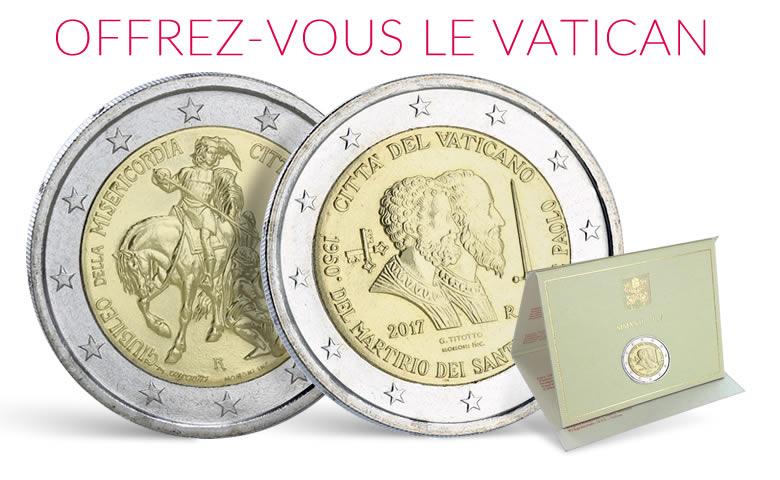 Monnaie de collection, pièces du Vatican