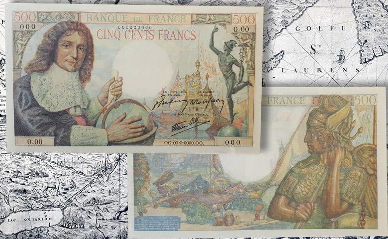 Connaissez vous le 500 Francs Colbert ?