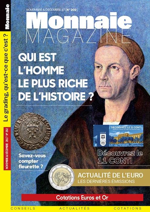 Monnaie Magazine Novembre Décembre 2017