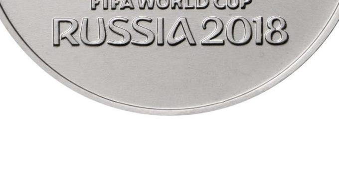 coupe du monde 2018 Russia coins et monnaies