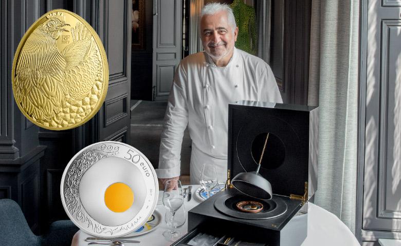 Guy Savoy célébré par la Monnaie de Paris