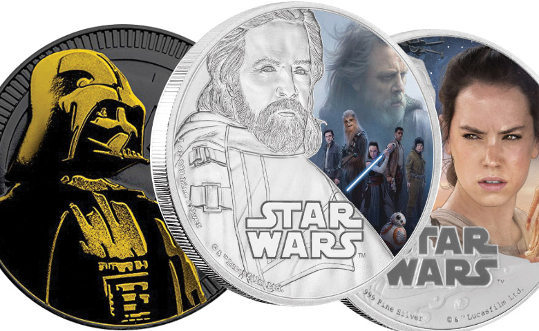 Star Wars 8 :premières images des monnaies !