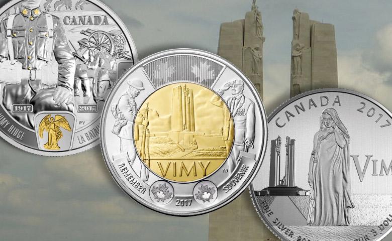 Canada-Une pièce de 2 $ pour les 100 ans de Vimy