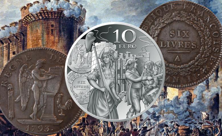 L'écu de 6 Livres sur la Semeuse 2018-Monnaie de Paris