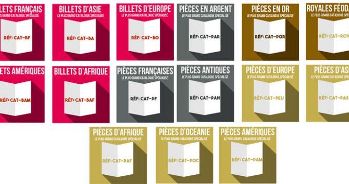 Les catalogues thématiques de emonnaies.fr