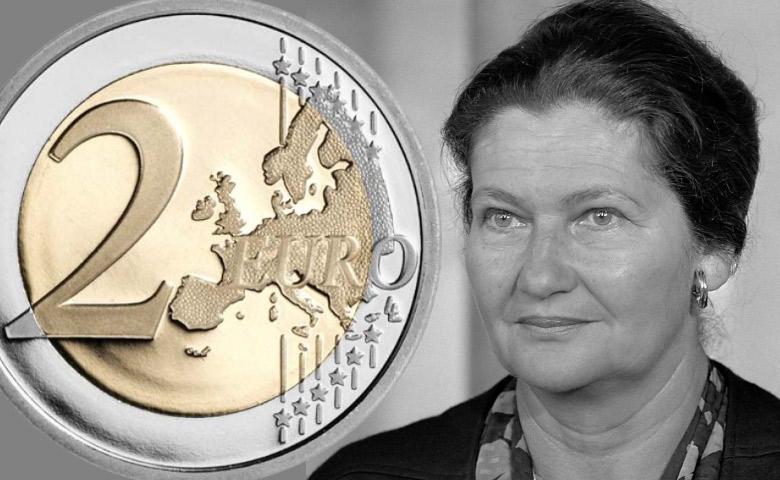 France : Simone Veil sur une 2 Euros en 2018 !