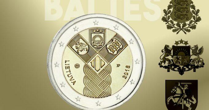 2 € des pays baltes (Estonie, Lituanie & Lettonie)